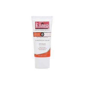 کرم ضد آفتاب بی رنگ SPF50 مناسب انواع پوست-الارو