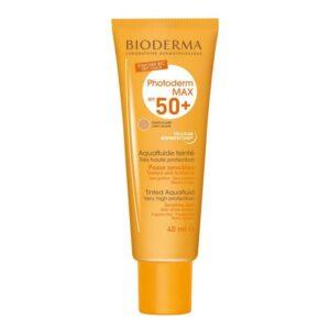 ضد آفتاب فلوئید SPf50 بژكم رنگ بایودرما 40 میل