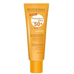 ضد آفتاب فلوئید SPF50 بژ طلائی بایودرما