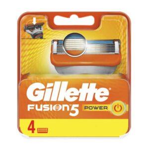 یدک تیغ اصلاح 4 عددی Fusion Power ژیلت