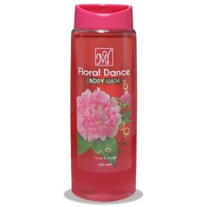 شامپو بدن Floral Dance حاوی عصاره رز و گوار مای 420 میل