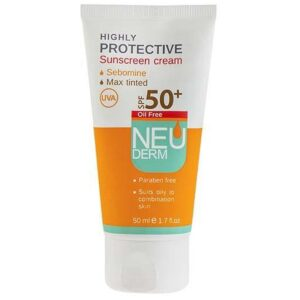 کرم ضد آفتاب SPF50 نئودرم