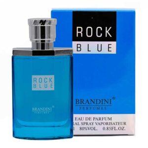 ادو پرفیوم مردانه Rock Blue برندینی 25 میل
