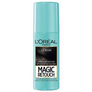 اسپری کانسیلر ریشه مو رنگ مشکی مدل Magic Retouch لورال 75 میل