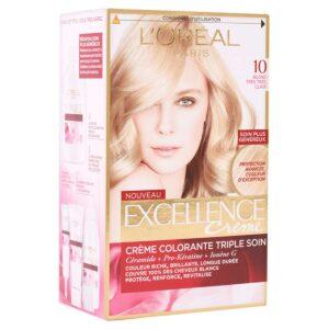کیت رنگ مو مدل Excellence شماره 10 لورال 50 میل