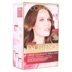 کیت رنگ مو مدل Excellence شماره 6.30 لورال 50 میل