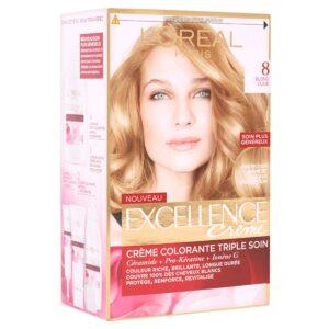 کیت رنگ مو مدل Excellence شماره 8 لورال 50 میل