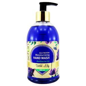مایع دستشویی شفاف ویولت لیلی شون مناسب انواع پوست 500 میل