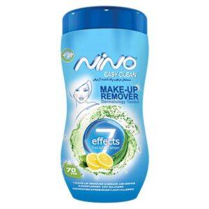 دستمال مرطوب پاک کننده آرایش نینو