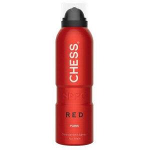 اسپری مردانه CHESS RED پاریس بلو