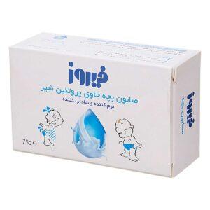 صابون بچه فیروز حاوی پروتئین شیر