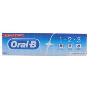 خمیر دندان 1.2.3 اورال بی