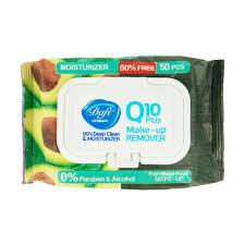 دستمال مرطوب آرایشی دافی حاوی Q10