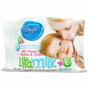 دستمال مرطوب کودک Vita Milk دافی