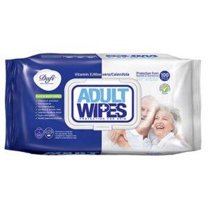 دستمال مرطوب پاک کننده بزرگسالان دافی