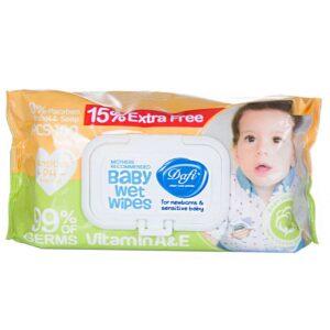 دستمال مرطوب کودک دافی